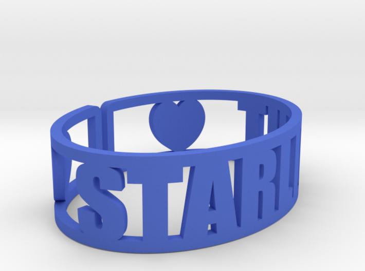 Starlight Cuff 3d printed