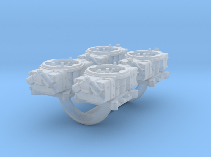 1/32 Scale Holley Double Pumper Kit 3d printed