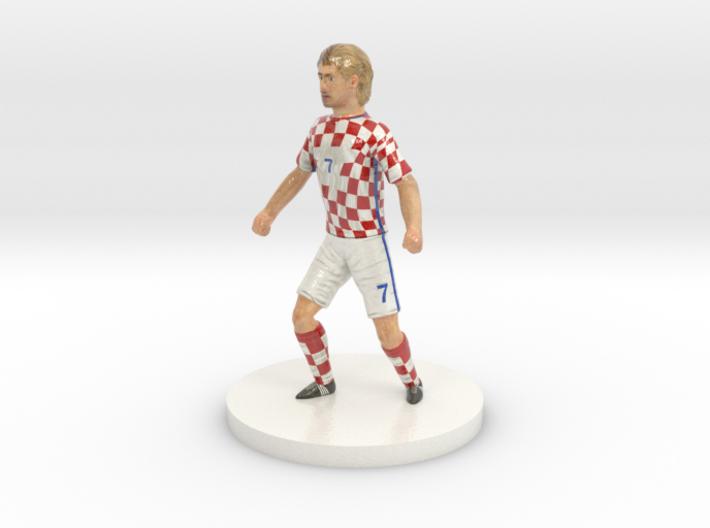 Croatian Football Player 3d printed