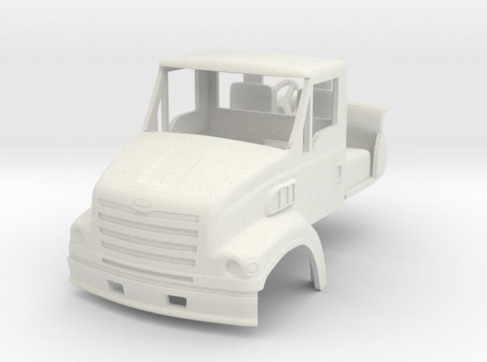 1/64 Sterling LT7501 truck cab with interior & mir 3d printed