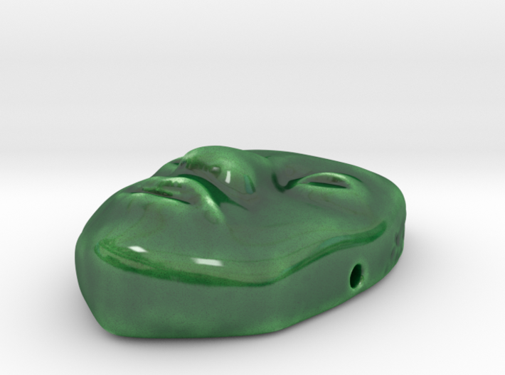 Indy Jade Mask 3d printed