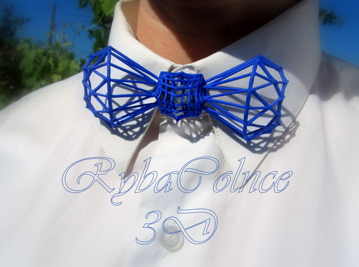 Bow tie / Tie Diamond Butterfly 3d printed