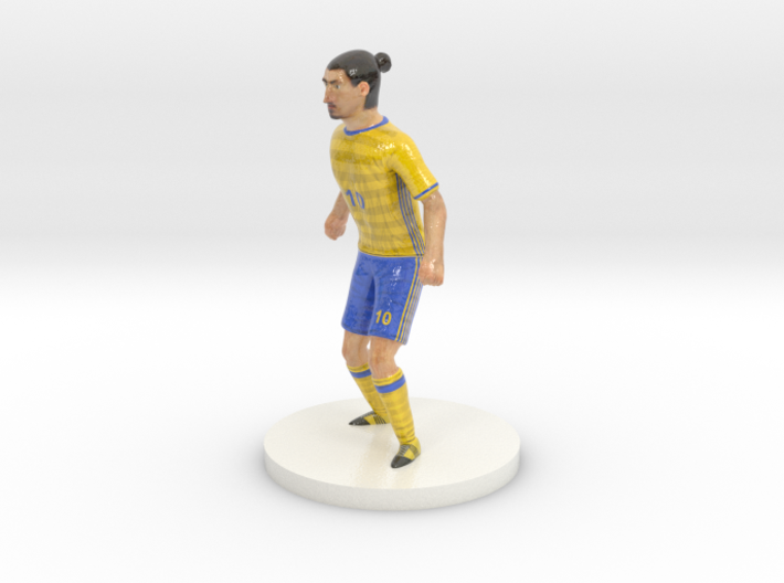 Swedish Football Player 3d printed