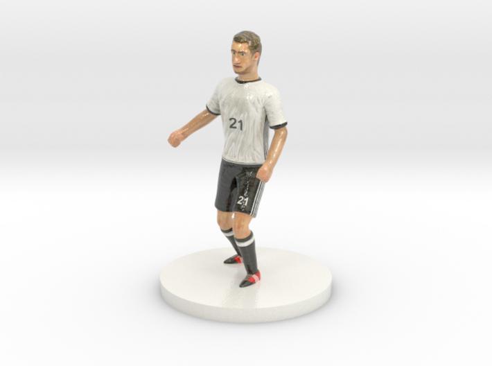 German Football Player 3d printed