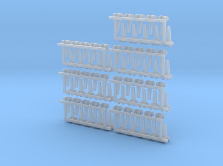 1-27 USN Hinge 70 Units 3d printed