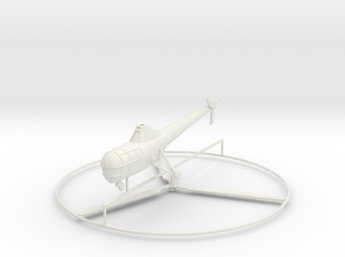 1/144 Sikorsky R-5 (H-5) 3d printed