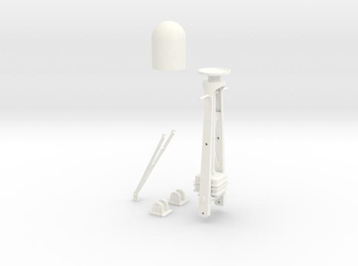 1-24 Radar Mast For PT BOAT 3d printed
