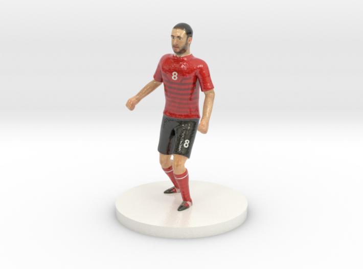 Albanian Football Player 3d printed