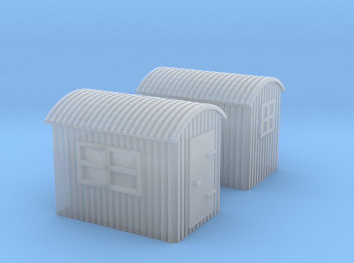 (1:450) GWR Lineside Huts #1 3d printed