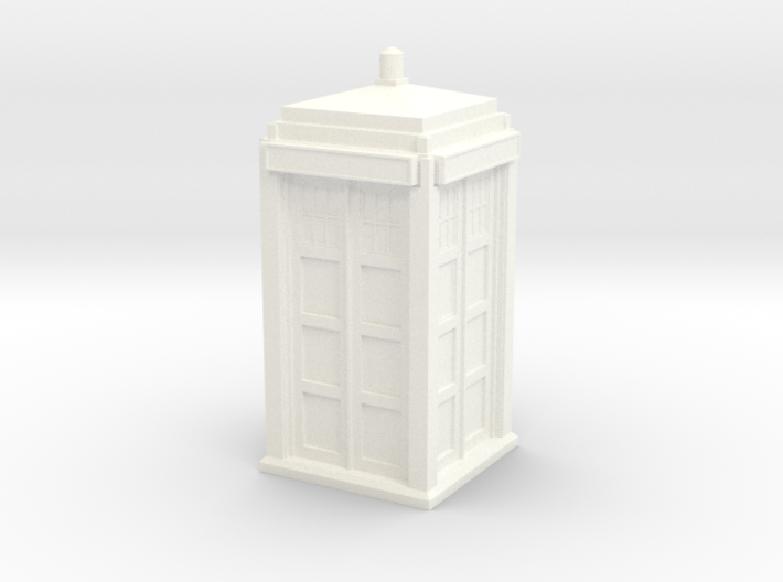 The Physician's Blue Box in 1/32 scale (complete) 3d printed