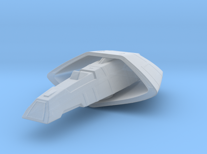 Vulcan T'Pau Type  Transport 1/5000 Attack Wing 3d printed