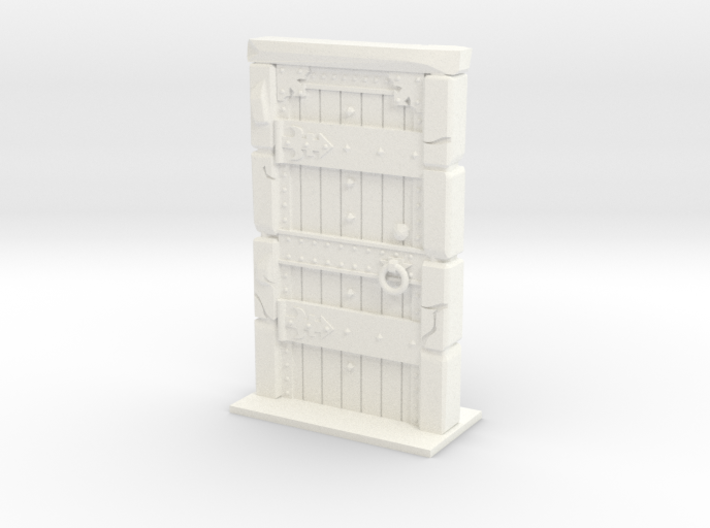 """HeroQuest  """"Kellar´s Keep"""" Door - open version 3d printed"""