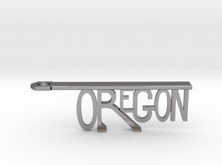 OREGON Bottle Opener Keychain 3d printed