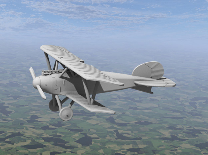 Albatros D.III (OAW late version) 3d printed Computer render of the actual model