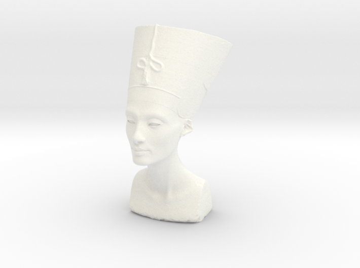 Bust Of Nefertiti At The Neues Museum, Berlin 3d printed