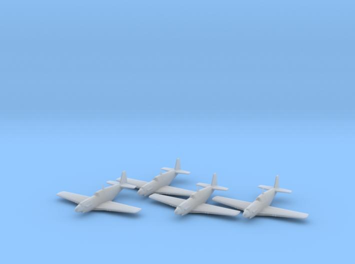 North American A-36 'Apache' 1/200 x4 FUD 3d printed