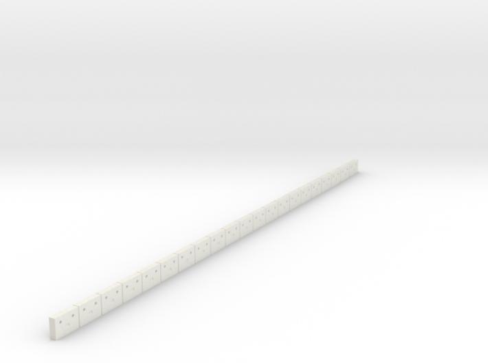 Flexible Österreichische Bahnsteigkante (N 1:160) 3d printed