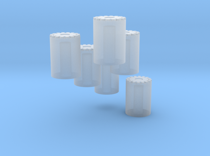 Row Crop Hubs 3d printed