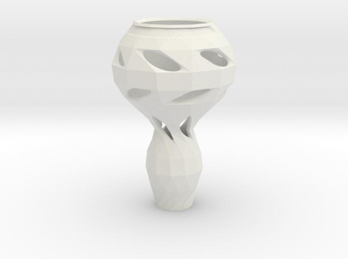 Geometrically Organic Vase 3d printed