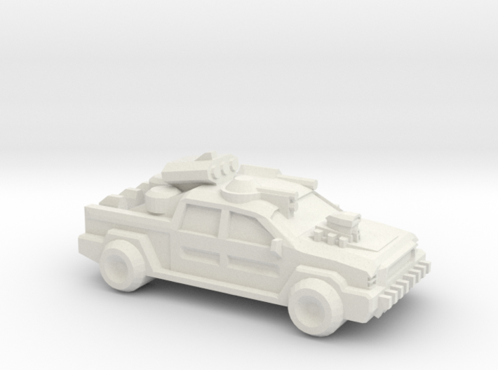 Thunder Road Humongous Truck 3d printed