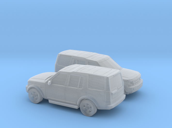 1/200 2X 2004-09 Land Rover Discovery 3d printed