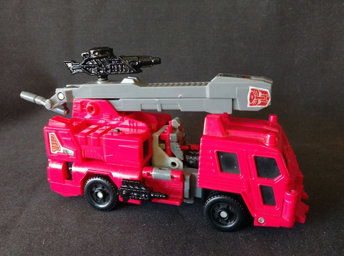 PRHI Transformers Hosehead Weapons 3d printed