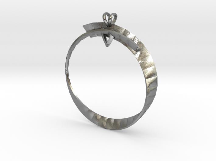 Modern Stone Setting Piece-1 3d printed