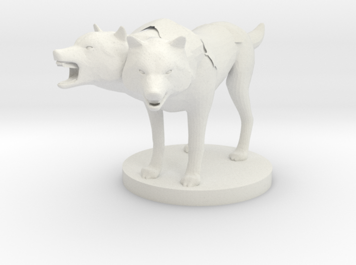 Death Dog 3d printed