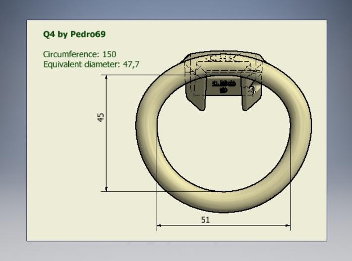 Q4-T150-10-25 3d printed