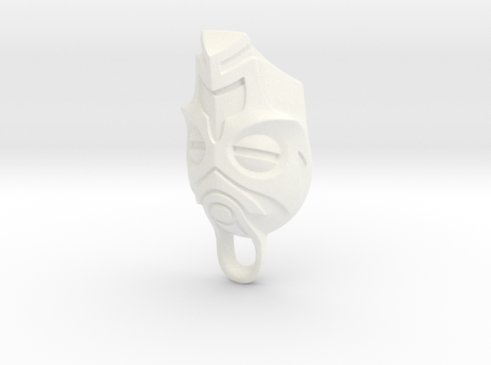 Dragon Priest Mask KeyChain 3d printed