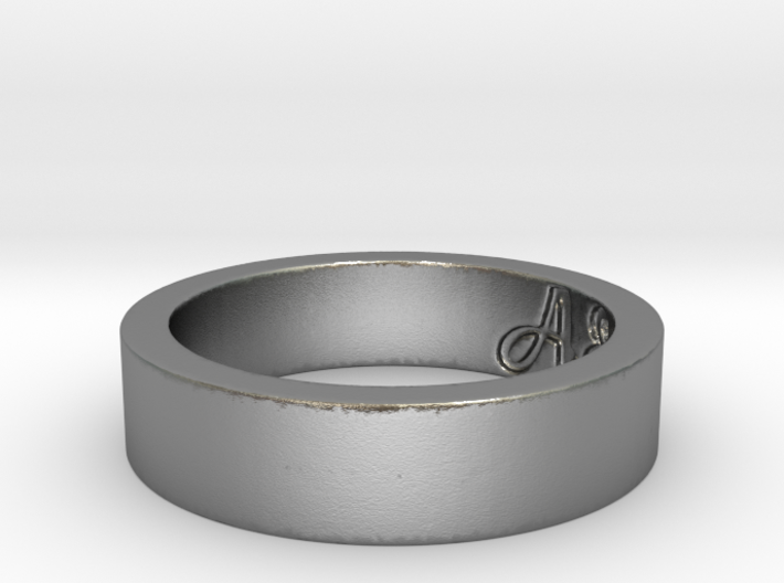 New ring of A&A Ring Size 6 3d printed