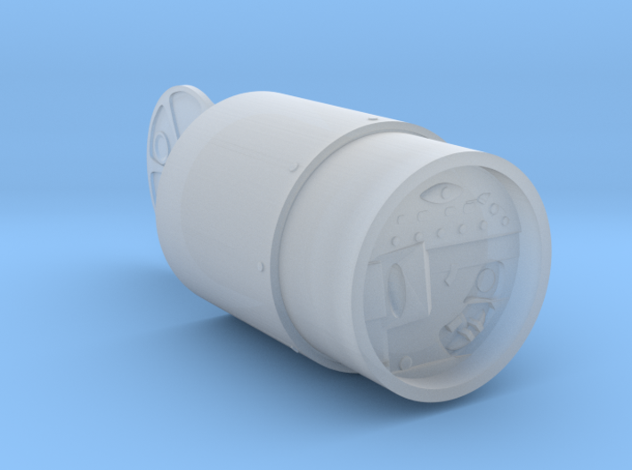 """1/18 scale """"Special Atomic Demoliton Munition"""" 3d printed"""