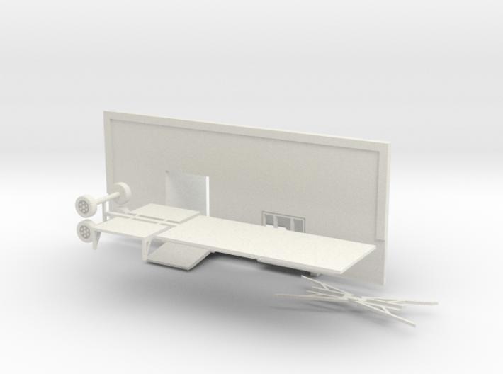 kleiner Eingangswagen Tandem 1:87 (H0 scale) 3d printed