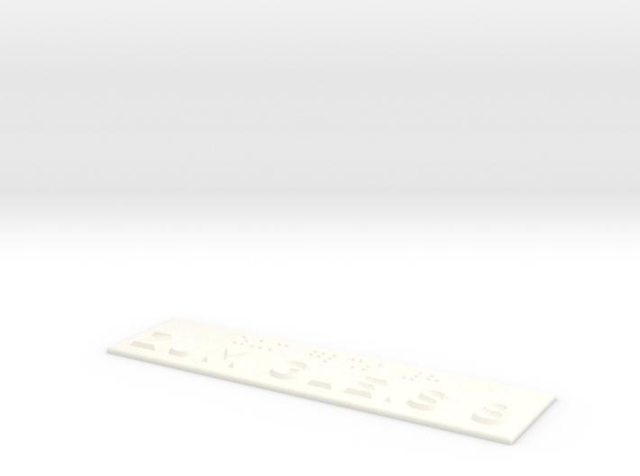 ZUM GLEIS 8 3d printed