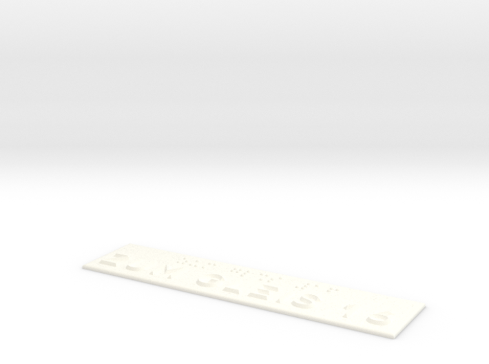 ZUM GLEIS 16 3d printed