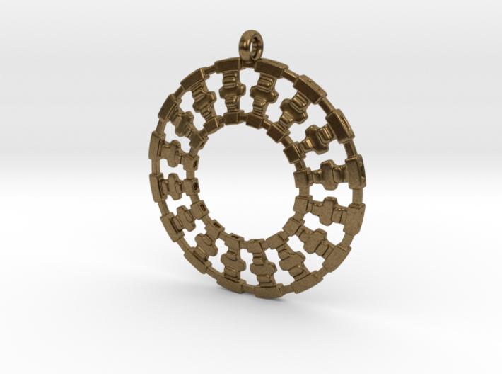Treyu Pendant 3d printed