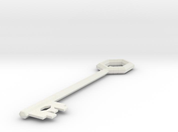 League Hex Chest Key 3d printed