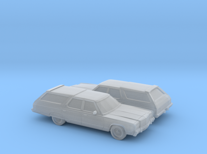 1/160 2X 1977 Chrysler Imperial Town & Country 3d printed