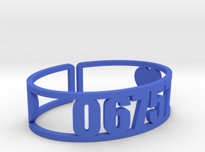 Kenwood Zip Cuff 3d printed