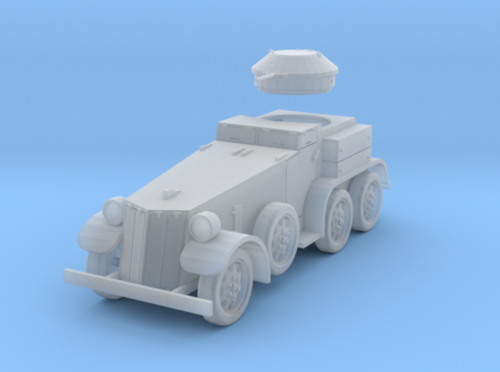 PV39D T4 (M1) Armored Car (1/87) 3d printed