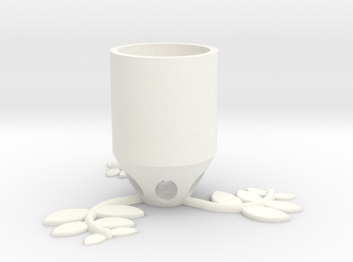 Small Plant Pot (long) 3d printed