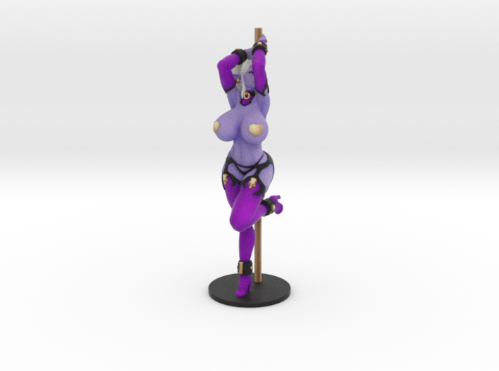 Pole Dancer Syx (pasties) 17 cm (approx 7 inches) 3d printed