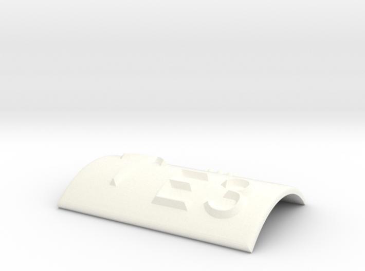 E3 mit Pfeil nach oben 3d printed