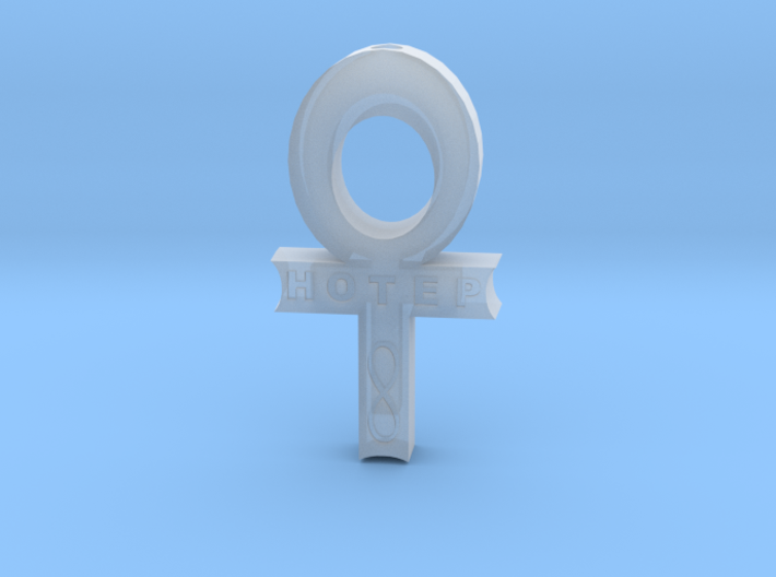 Hollow Hotep Ankh 3d printed