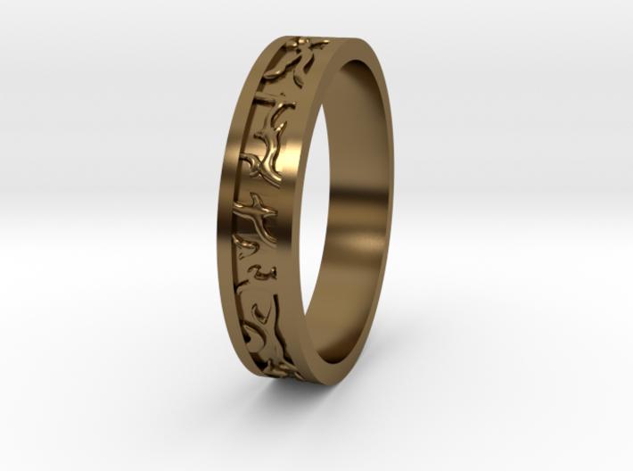 Ring of the Sun Princess 3d printed