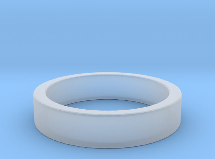 Basic Ring US10 3d printed