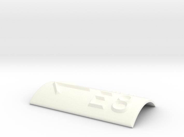 E8 mit Pfeil nach links 3d printed