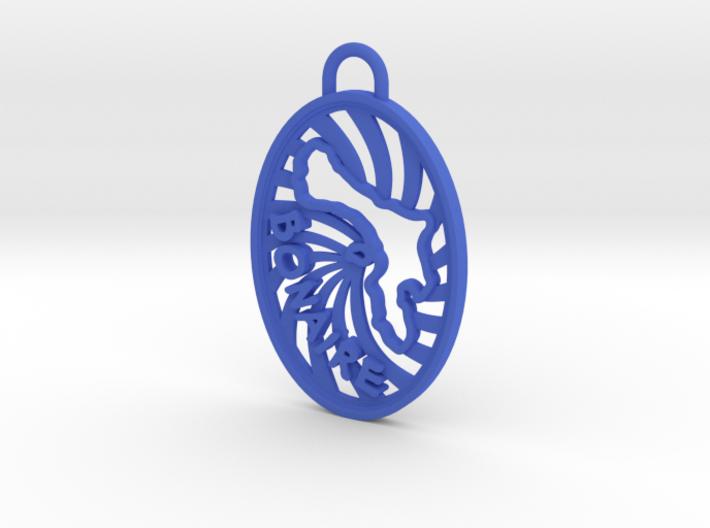 Bonaire Keychain/Pendant 3d printed