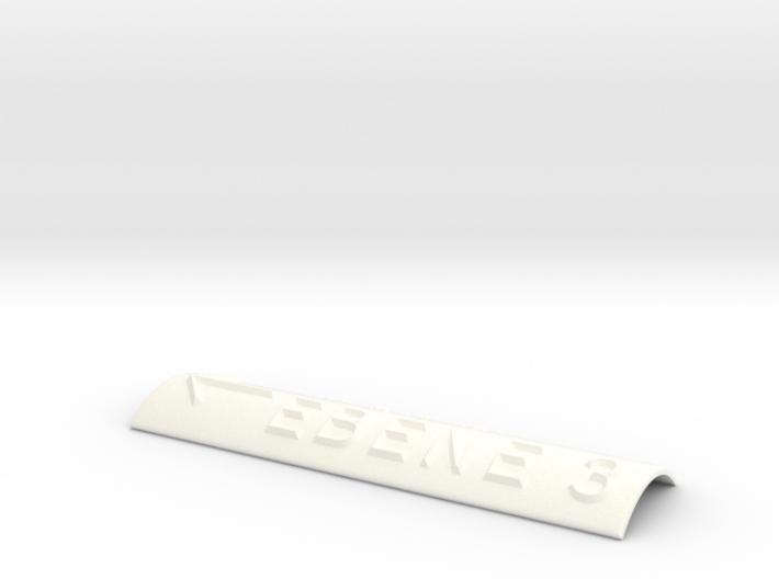 EBENE 3 mit Pfeil nach links 3d printed
