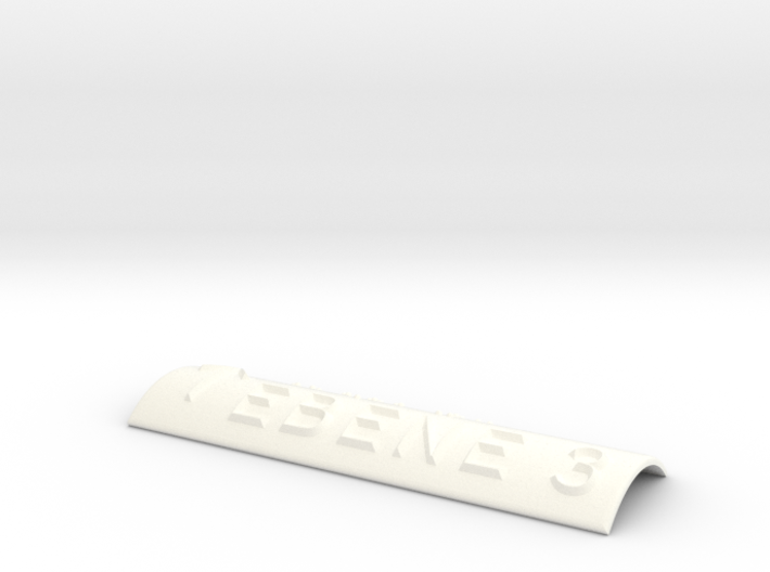 EBENE 3 mit Pfeil nach oben 3d printed